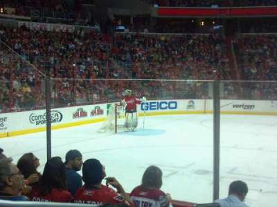 Verizon Center, section: 110, row: F, seat: 2