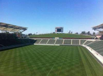 StubHub Center, section: StubHub Center Club