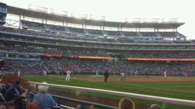 Nationals Park, section: 134, row: D, seat: 22