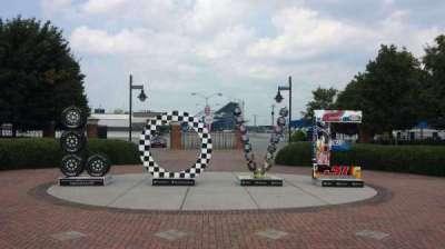 Richmond International Raceway section Entrance
