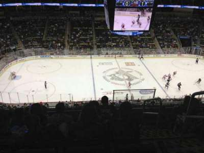 PPG Paints Arena, section: 204, row: F, seat: 1