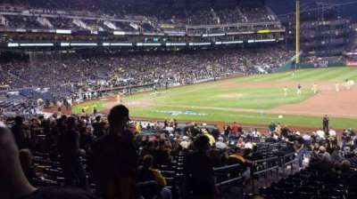 PNC Park, section: 108, row: Y, seat: 20