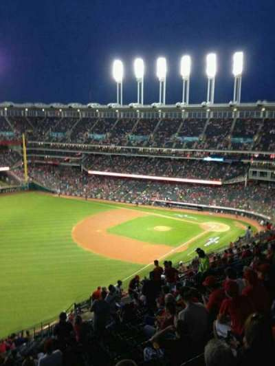 Progressive Field section 577