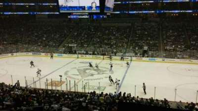 Consol Energy Center, section: Club 1, row: A, seat: 8