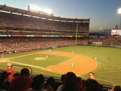 Angel Stadium, section: C338, row: E