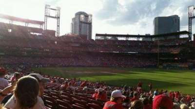 Busch Stadium section 134