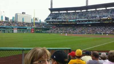 PNC Park, section: 31, row: H, seat: 4