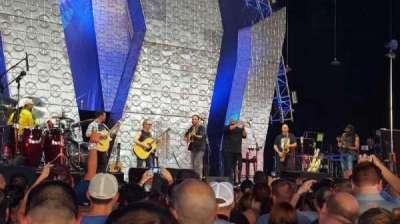 PNC Music Pavilion, section: GA Pit