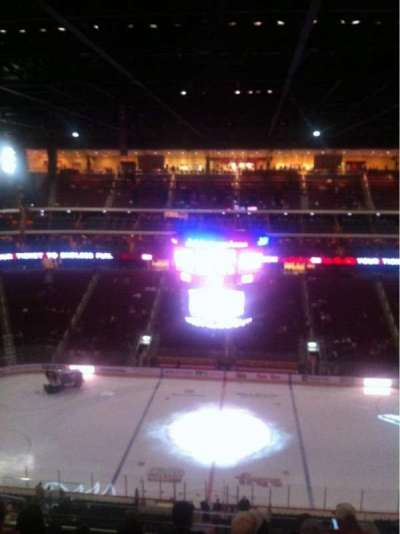 Gila River Arena, section: 215, row: H, seat: 17