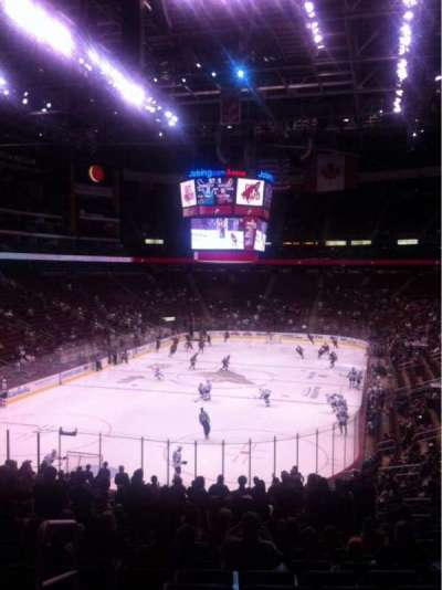 Gila River Arena, section: 105, row: Z, seat: 12