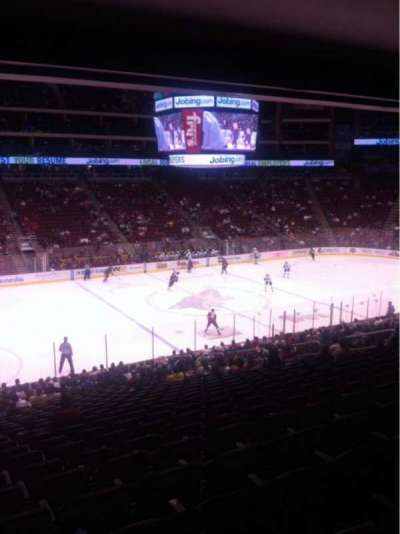 Gila River Arena, section: 113, row: Z, seat: 19