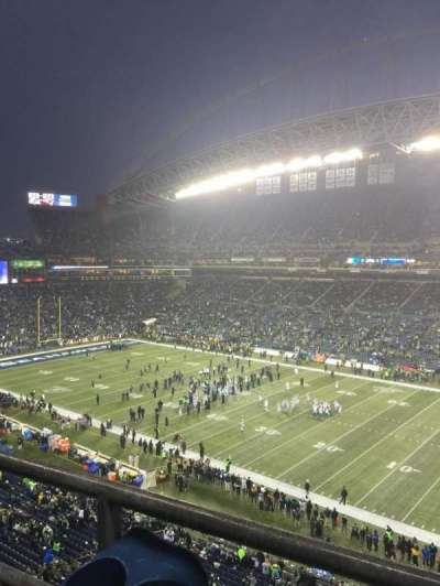CenturyLink Field, section: 304, row: A, seat: 19