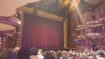 Cobb Energy Performing Arts Centre, section: L-Orch, row: W, seat: 27