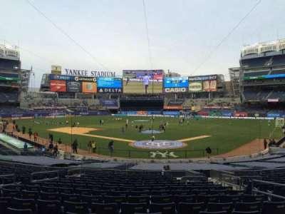Yankee Stadium section 120b