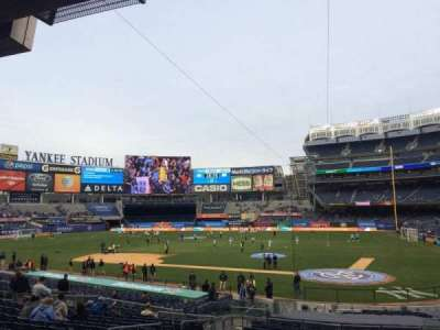 Yankee Stadium section 121b