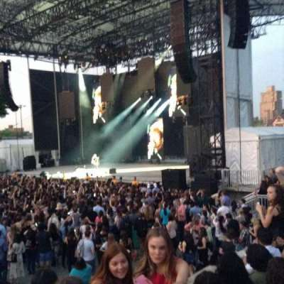 Forest Hills Stadium, section: Portal 2, row: D, seat: 17