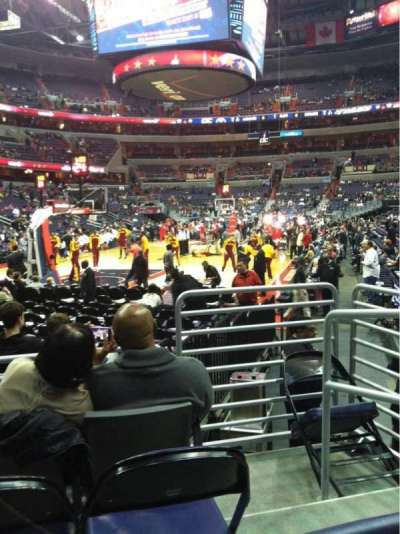 Verizon center, section: 118, row: D, seat: 5