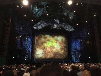 Apollo Victoria Theatre, section: Stalls, row: T, seat: 33