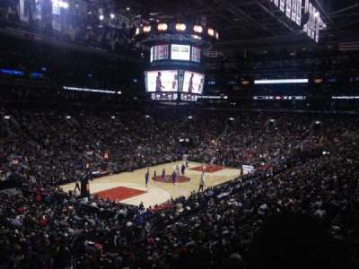 Air Canada Centre, section: 122, row: 23, seat: 19