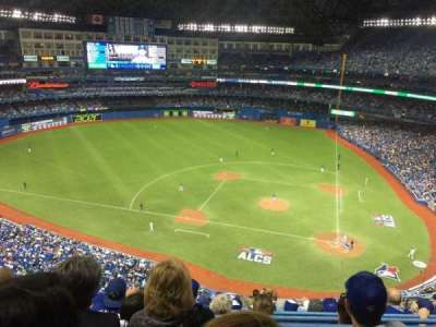 Rogers Centre, section: 528, row: 12, seat: 10