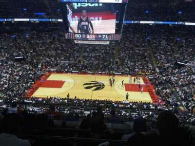 Air Canada Centre, section: 309, row: 9, seat: 5