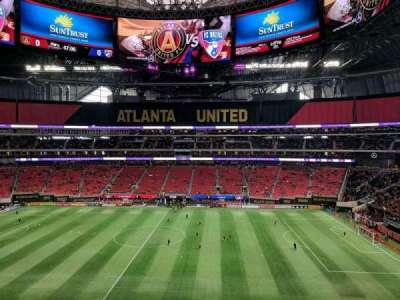 Mercedes-Benz Stadium, section: 209, row: 4, seat: 9
