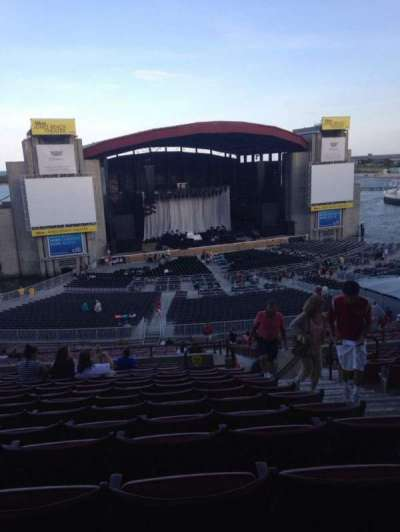 Jones Beach Theater, section: 12R, row: RR, seat: 4