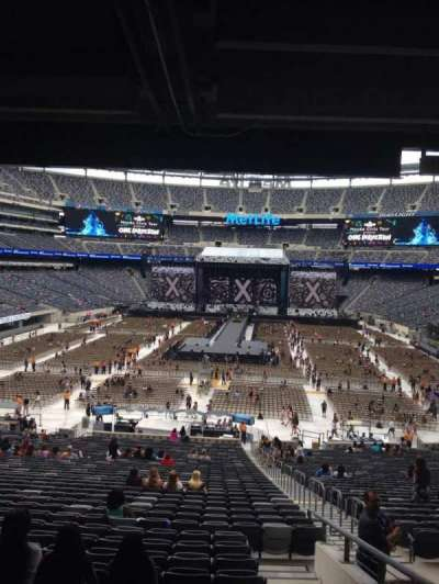 MetLife Stadium, section: 126, row: 45, seat: 4