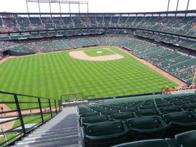 Oriole Park at Camden Yards section 388