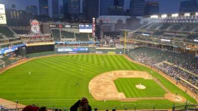 Target Field, section: 322, row: 13, seat: 18