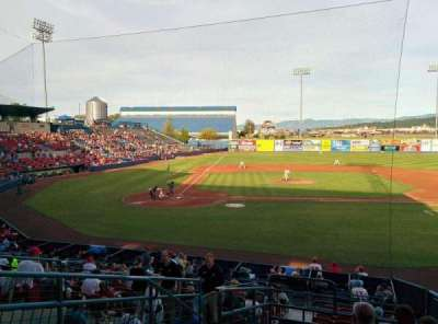 Avista Stadium, section: L, row: 8, seat: 2