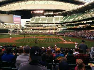 Safeco Field, section: 136, row: 22, seat: 5