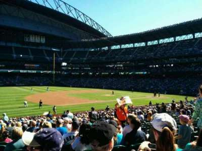 Safeco Field, section: 142, row: 30, seat: 6