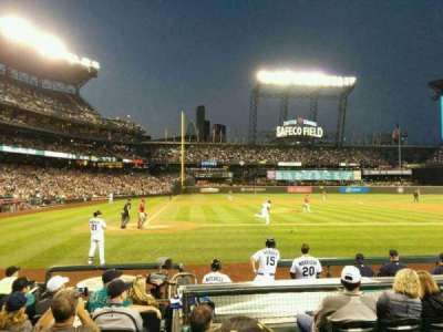 Safeco Field, section: 125, row: 10, seat: 1