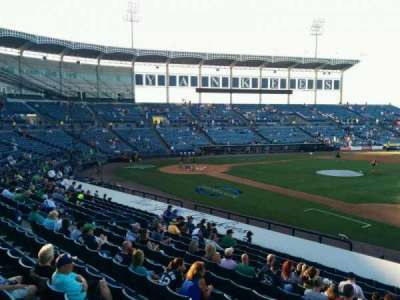 George M. Steinbrenner Field, section: 105, row: pp, seat: 1
