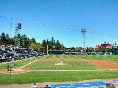 Cheney Stadium, section: m, row: 4, seat: 10