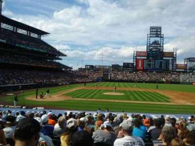 Coors Field, section: 124, row: 22, seat: 8