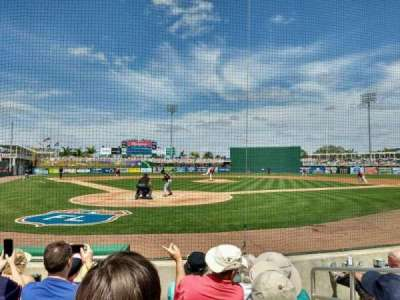 Hammond Stadium, section: 107, row: 3, seat: 3