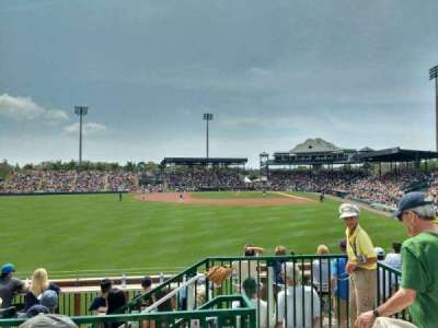 McKechnie Field, section: lfb, row: 3, seat: 4