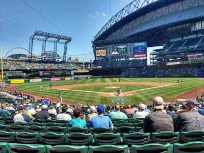 Safeco Field section 131 home of Seattle Mariners