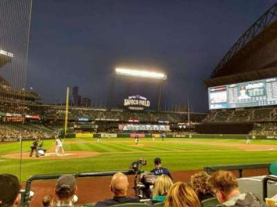 Safeco Field, section: 25, row: g, seat: 4