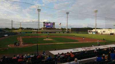 Joker Marchant Stadium, section: 204, row: h, seat: 17