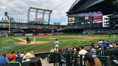 Safeco Field, section: 127, row: 10, seat: 1