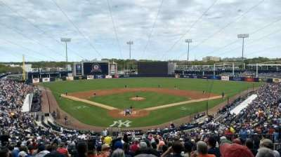George M. Steinbrenner Field, section: 210, row: O, seat: 22