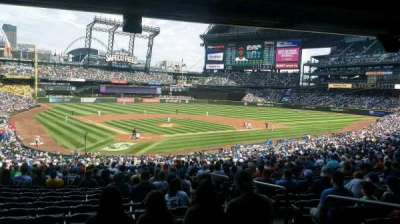 Safeco Field, section: 128, row: 42, seat: 2