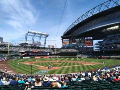 T-Mobile Park, section: 128, row: 26, seat: 10