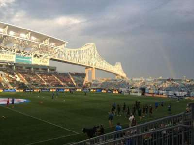 Talen Energy Stadium, section: 108, row: K, seat: 8