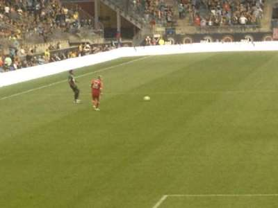 Talen Energy Stadium, section: 118, row: K, seat: 17