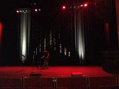 Strand-Capitol Performing Arts Center, section: orchestra center, row: G, seat: 101