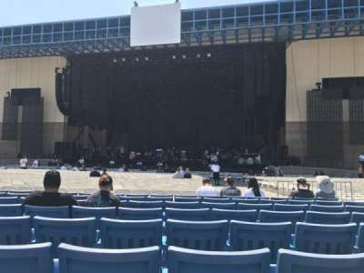 San Manuel Amphitheater, section: Orch, row: EE, seat: 7